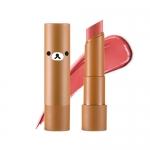 Preorder Apieu Rilakkuma Mellow lipstick CR04 (Paris) (리락쿠마 에디션) 멜로우 립스틱 6800won สิปสติกสีสันสดใส ให้ความชุ่มชื้นและสีติดทนนาน ที่มีส่วนผสมของสารสกัดจากเชียบัตเตอร์และผลไม้ มอบความชุ่มชื้นและมันวาว
