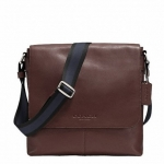 COACH F71721 SULLIVAN SMALL MESSENGER IN SMOOTH # 71721 สี MAHOGANY