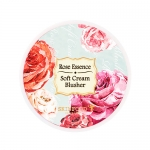 Preorder Skinfood Rose Essence Soft Cream Blusher 로즈 에센스 소프트 크림 블러셔 8000won บลัชออนเนื้อครีมคุณภาพแน่น ติดทนยาวนานตลอดวัน ที่ผลิตออกมาโดยเน้นสีโทนหวานให้ได้เลือกหลายเฉดสี ในคอลเลคชั่น Milky Rose มากับแพ็กเกจน่ารักลายดอกกุหลายหลากสี ตลับขนาดเล็กพกพาได้สะดว