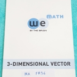 ►We Brain◄ MA FR36 หนังสือกวดวิชา คณิตศาสตร์ ม.5 เวกเตอร์ 3 มิติ มีสรุปเนื้อหา สูตรสำคัญ ก่อนตะลุยทำโจทย์แบบฝึกหัด มีข้อควรรู้ ข้อควรระวัง เทคนิคลัดเยอะมาก จดครบเกือบทั้งเล่ม จดละเอียด โจทย์ Assignment มีเฉลยละเอียดและวิธีทำละเอียด
