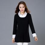 เสื้อยืดไซส์ใหญ่ สีดำ แขนยาว (M,L,XL,2XL,3XL,4XL)