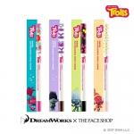 Preorder The Face Shop Trolls Ink Gel Slim Mechanical Pencil Eyeliner 잉크젤 슬림 샤프라이너_트롤 에디션 8000won