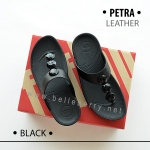 * พร้อมส่ง * FitFlop PETRA ( Leather ) : Black : Size US 6 / EU 37