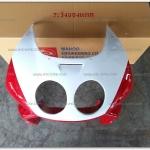 หน้ากาก NSR-R สีแดง/ขาว