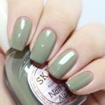 (พร้อมส่ง) Skinfood Nail Vita Alpha ∝ (Mellow Brownie) สี AGR02