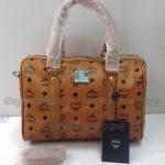 กระเป๋า  MCM ทรงหมอน ขนาด 12 นิ้ว   สีน้ำตาล