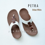 * NEW * FitFlop PETRA : Urban White : Size US 5 / EU 36