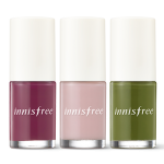 Preorder Innisfree Real color nail 리얼 컬러 네일 - 가을 6ml 3000won