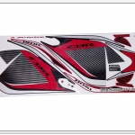 สติ๊กเกอร์ CBR150-R ปี 2014 รุ่น 10 ติดรถสีแดง
