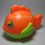 ปลาอ้วนกลม สีส้ม