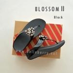 * NEW * FitFlop Blossom II : Black : Size US 6 / EU 37