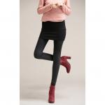 กางเกงกระโปรงเลคกิ้ง ผ้ายืด เทา/ม่วงแดง/ดำ XL 2XL 3XL