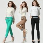 กางเกงขายาว สีดำ/สีเขียว/สีกากี (XL,2XL,3XL)