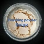 ขนาดจัดชุด MMUMANIA Mineral Makeup : FINISHING POWDER แป้งฝุ่นคุมมัน มิเนอรัล สีเนื้อ