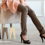 ♡♡Pre Order♡♡ กางเกงสกินนี่ขายาว ผ้าคอตตอนยืดเนื้อดี สวมใส่สบาย