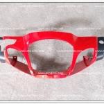 หน้ากากหน้า WAVE125 ดีส สีแดงส้ม