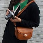 Pre Order / Annabelle edge edge tansaek inseutakseu Polaroid camera bags