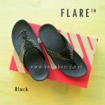 **พร้อมส่ง** รองเท้า FitFlop : F L A R E : BLACK : Size US 7 / EU 38