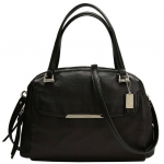 Coach Madison Small Georgie Satchel in Leather # 30081 สี Black