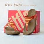 **พร้อมส่ง** รองเท้า FitFlop Aztek Chada : Ultra Orange : Size US 7 / EU 38
