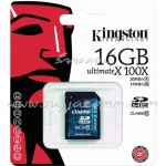 "SD Card 16GB ""Kingston"" (SD10G2, Class 10)"