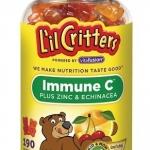 Immune C เยลลี่หมีอิมมูนซี 190เม็ด เสริมภูมิ/ต้านหวัด/ลดภูมิแพ้ ด้วยสมุนไพร Echinecea+Zinc+ VitC (หมด ไม่เอามาช่วงนี้ค่ะ)