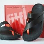 **พร้อมส่ง** รองเท้า FitFlop Sling Leather : Black : Size US 6 / EU 37