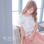 ♡♡pre-order♡♡  เสื้อหวานๆ สีขาวคอกลม แขนสั้น สวยน่ารักๆ สำเนา