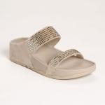 **พร้อมส่ง** รองเท้า FitFlop Flare Slide : Pebble : Size US 8 / EU 39