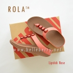 ** NEW ** FitFlop : ROLA : Lipstick Rose : Size US 7 / EU 38