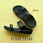 **พร้อมส่ง** FitFlop : FLARE SLIDE : Black : Size US 6 / EU 37