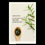พร้อมส่ง INNISFREE IT'S REAL SQUEEZE MASK-TEA TREE 잇츠 리얼 스퀴즈 티트리 마스크 950 won