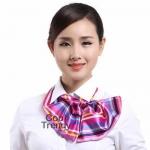 [pre-order] ผ้าพันคอสำเร็จรูป ผ้ายูนิฟอร์ม uniform ผ้าไหมซาติน : L38