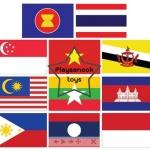 PF-015 ชุดธงอาเซียน เบอร์ 2