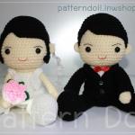 ตุ๊กตาคู่แต่งงาน PDF.(ส่งทางเมลล์)