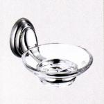 จานใส่สบู่ (soap dish with glass)  NO.82885
