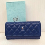 กระเป๋าสตางค์ Chanel มาใหม่ แบบยาว 3 พับ 2 ชั้น งานสวย ขนาด  4x 7.5  นิ้ว