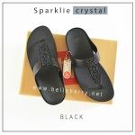 FitFlop : Sparklie Crystal : Black : Size US 8 / EU 39