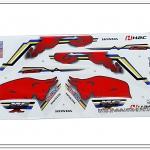 สติ๊กเกอร์ MSX-REDBULL ติดรถสีขาว