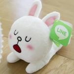 พร้อมส่ง / ตุ๊กตา LINE APP SIZE : 18 CM.