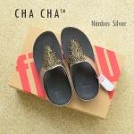 **พร้อมส่ง** FitFlop Cha Cha : Nimbus Silver : Size US 7 / EU 38