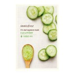 พร้อมส่ง innisfree INNISFREE IT'S REAL SQUEEZE MASK-CUCUMBER 잇츠 리얼 스퀴즈 오이 마스크 950 won