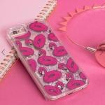 Skinnydip Flamingo Liquid Glitter iPhone 6/6S/7 Case
