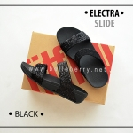 * NEW * FitFlop Electra Slide : Black : Size US 8 / EU 39