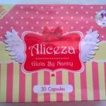 แพคเกจใหม่ ผลิตภัณฑ์อาหารเสริม aliceza gluta by nanny กลูต้าขั้นเทพ บรรจุ 30 เม็ด