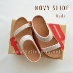 **พร้อมส่ง** FitFlop : NOVY Slide : Nude : Size US 5 / EU 36