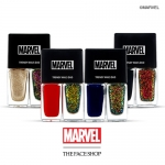 Preorder The Face Shop Marvel Trendy Nails Duo 트렌디 네일즈 네일 듀오(마블) 6000won