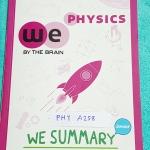 ►We Brain วีเบรน◄ MA A288 We Summary The Winner Edition หนังสือกวดวิชาสรุปเนื้อหาฟิสิกส์ ม.ต้น ครบทั้งหมดทุกบท อ่านเข้าใจง่าย มีรูปภาพ แผนภาพ ไดอะแกรม Mind Mapping มีสรุปสูตรและเทคนิคลัดเยอะมาก พิมพ์สีทั้งเล่ม มีภาพน่ารักๆประกอบคำอธิบาย หนังสือหายาก ขายเก