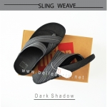* NEW * FitFlop : SLING WEAVE : Dark Shadow : Size US 09 / EU 42