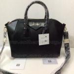 กระเป๋า Givenchy หนังนิ่มสวยมาก แบบญาญ่าหญิง - เจี๊ยบ - อั้ม พัชราภา ไฮโซที่สุด 12 นิ้ว สูง 10 นิ้ว สีดำ